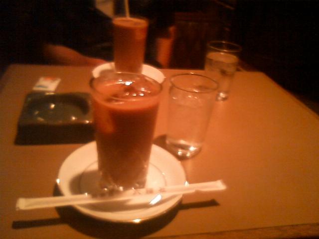 六曜社のミルク珈琲